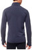 Icebreaker Descender LS Zip Shirt Men stealth/oxblood